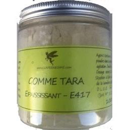 Bocal de gomme de Tara
