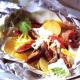 Bœuf en papillote sauce roquefort