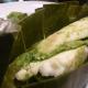 Lieu en papillote de feuilles de bananier