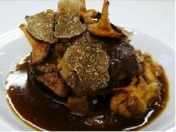 Embrouillamini de truffes et de champignons