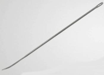 Aiguille à brider courbée en inox