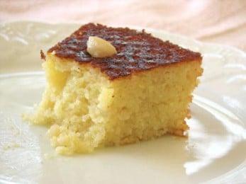 Gâteau à l'eau de fleur d'oranger
