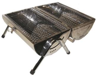 Gril à charbon de bois