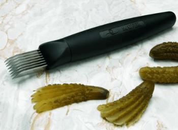 Couteau éminceur à condiments