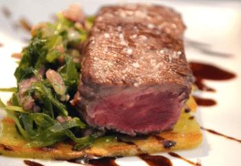 Filet de bœuf « bleu »