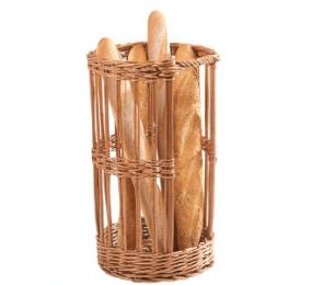 Huche à pain en osier