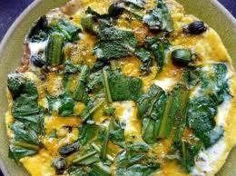 Omelette au pissenlit