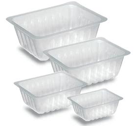 Barquettes alimentaires en plastique