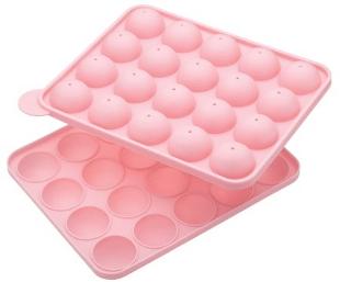 Moule à cake pops en silicone