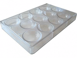 Moule demi-sphères en polycarbonate