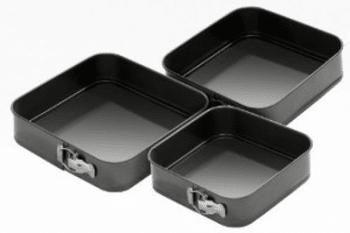 Moules à gâteaux carrés à charnière