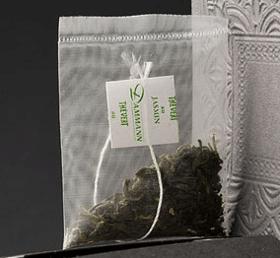 Sachet de thé en mousseline