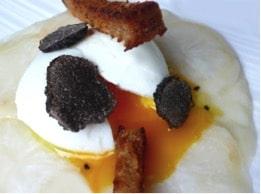 Œuf mollet à la truffe