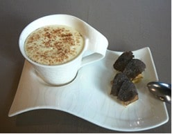 Cappuccino à la truffe noire