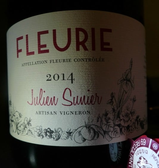 Fleurie Julien Sunier 2014