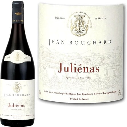 Juliénas Jean Bouchard