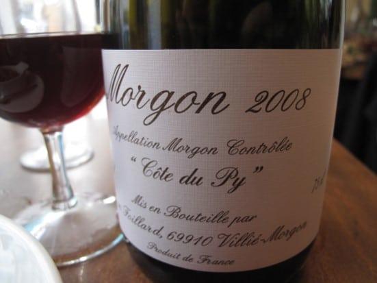 Morgon Côte du Py 2008