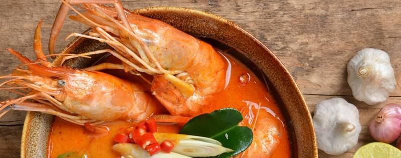Crevettes géantes à la thaïlandaise