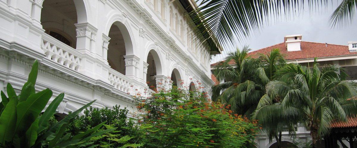 Raffles Hotel côté jardin