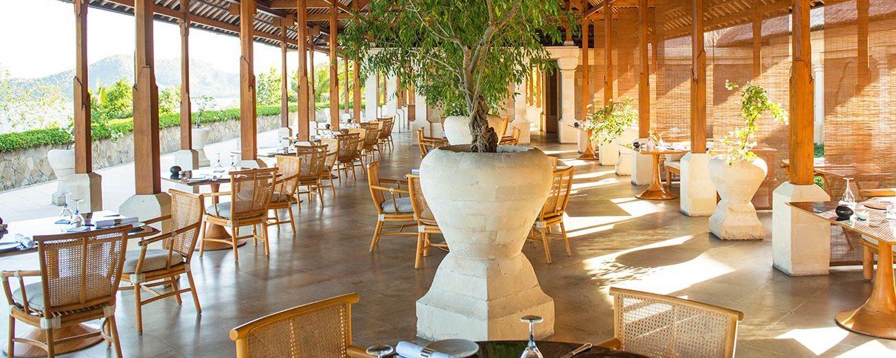 Restaurant de l'hôtel Amankila