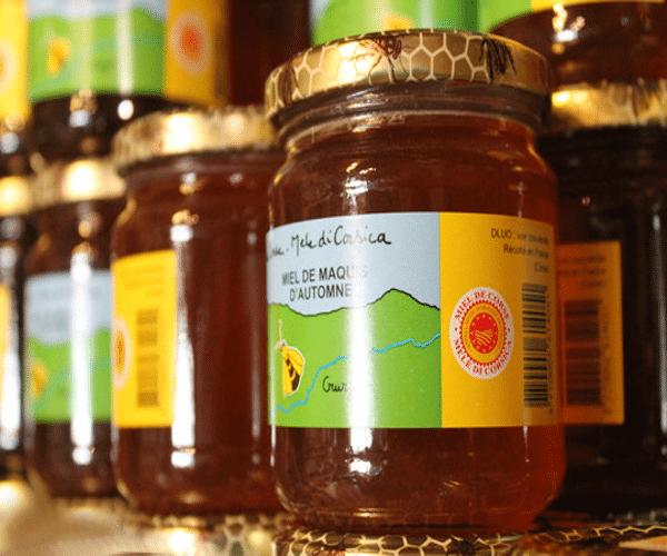miel de thym corse