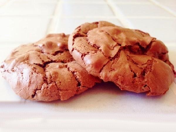 Biscuit au chocolat sans farine