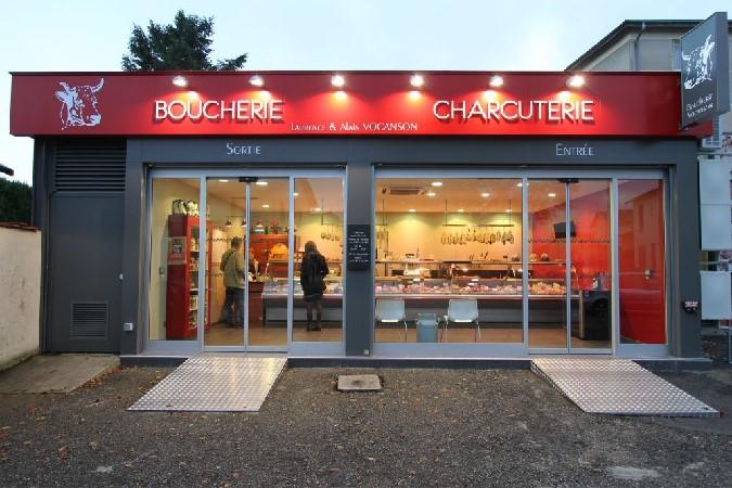 Enseigne Boucherie boucherie - gastronomiac