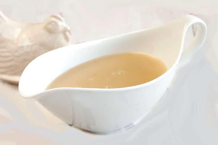 Sauce fleurette