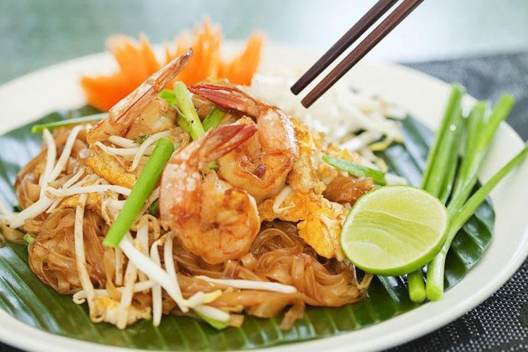 Phad thaï goong