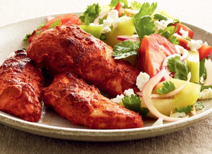 Tandoori Cuisine Indienne - Cuisine indienne poulet tandoori