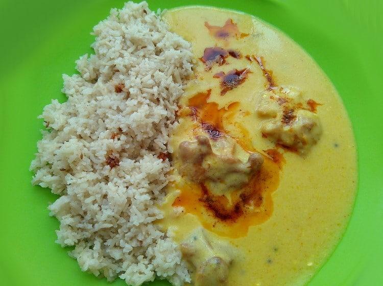 Khadi et riz pilaf