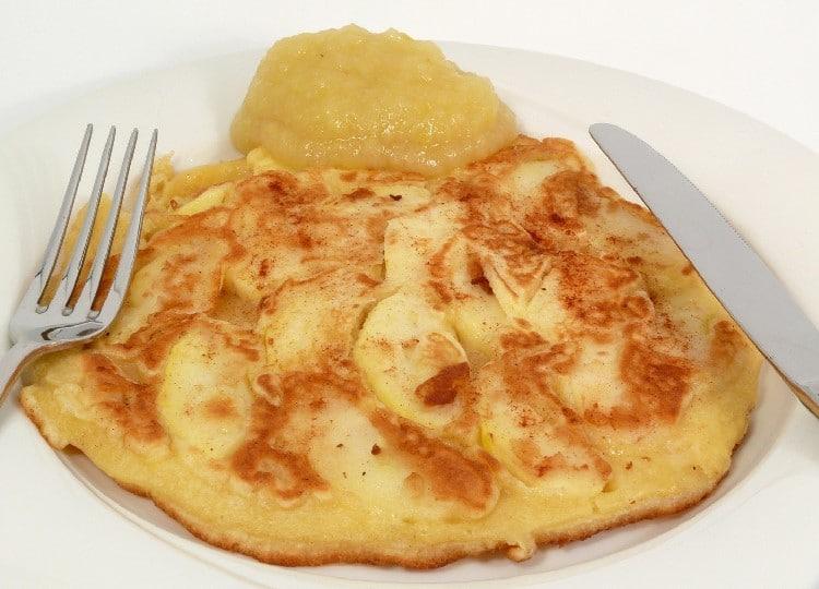 Omelette de la vallée d'Auge