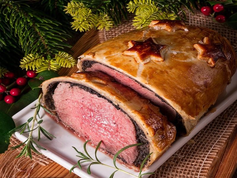 Filet de bœuf Wellington de Noël