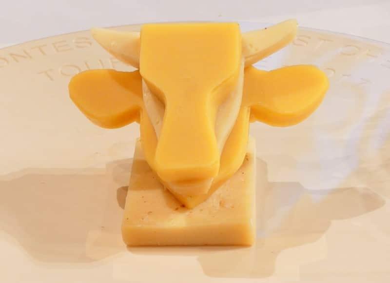 Tête de vache en fromage