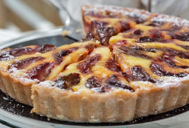 Tarte aux prunes à l'alsacienne