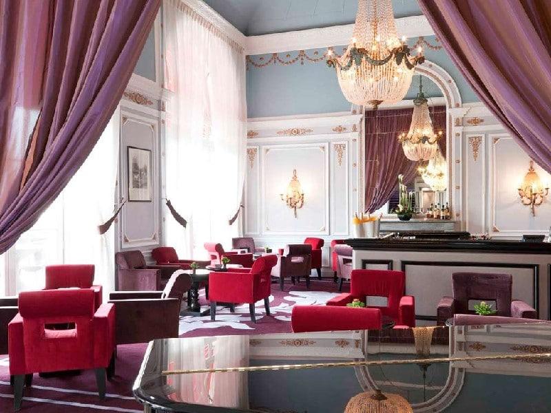 Bar-lounge du Grand Hôtel de Cabourg