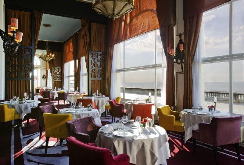 Salle de restaurant du Grand Hôtel Cabourg