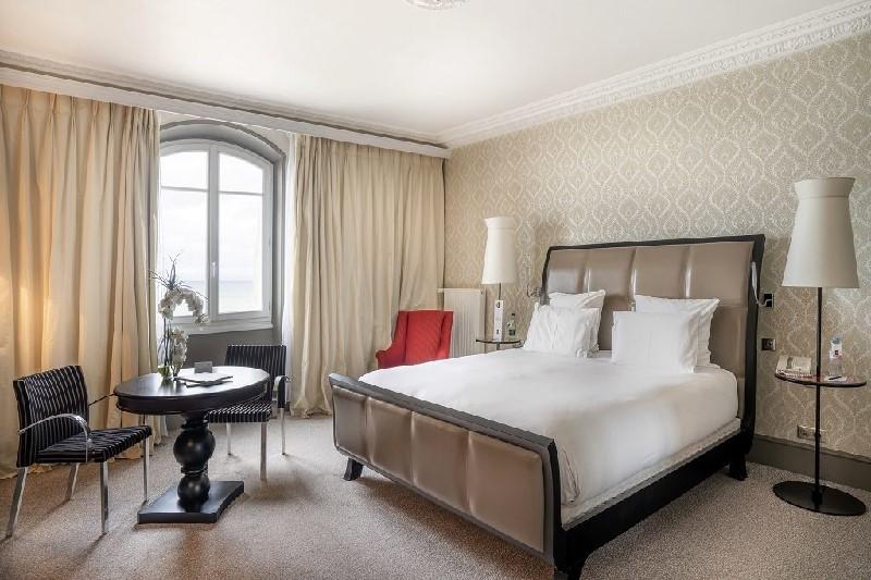 Une chambre du Grand Hôtel Cabourg