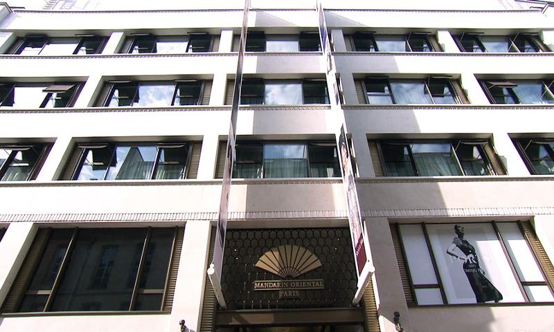 Hôtel Mandarin Oriental, rue saint-Honoré - Paris