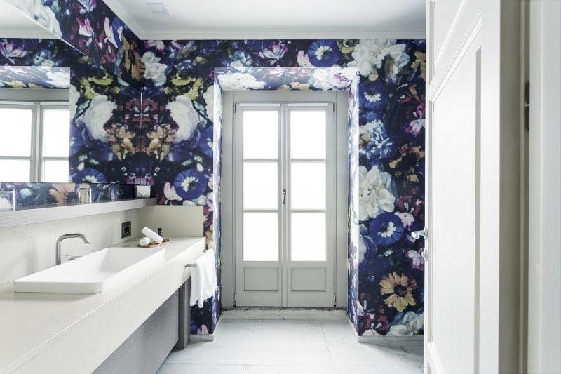 Une salle de bain au Galleria Vik Milano