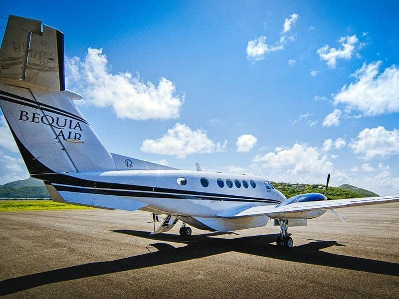 King Air B200 de Bequia Air