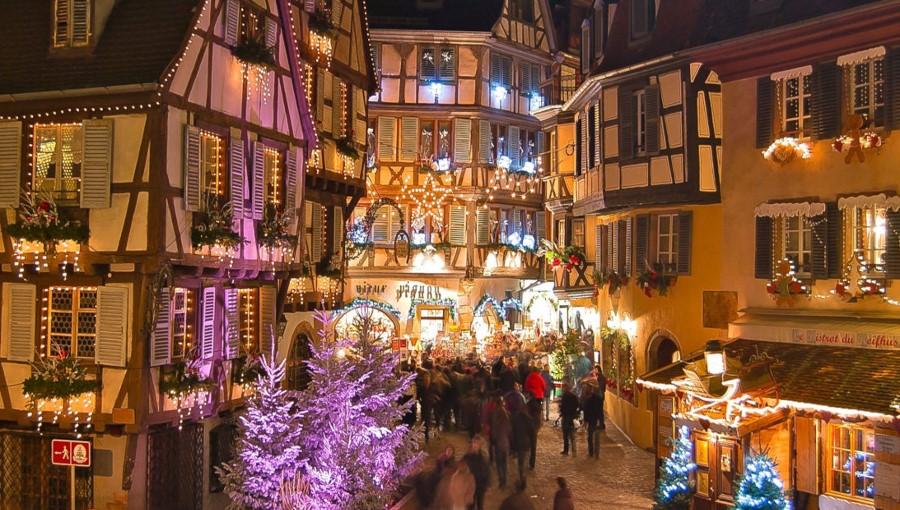 Le marché de Noël à Colmar
