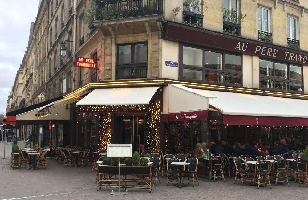 Café Au Père Tranquille à Paris