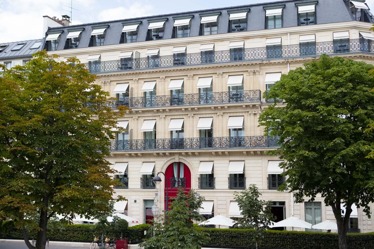 Hôtel La Réserve avenue Gabriel à Paris