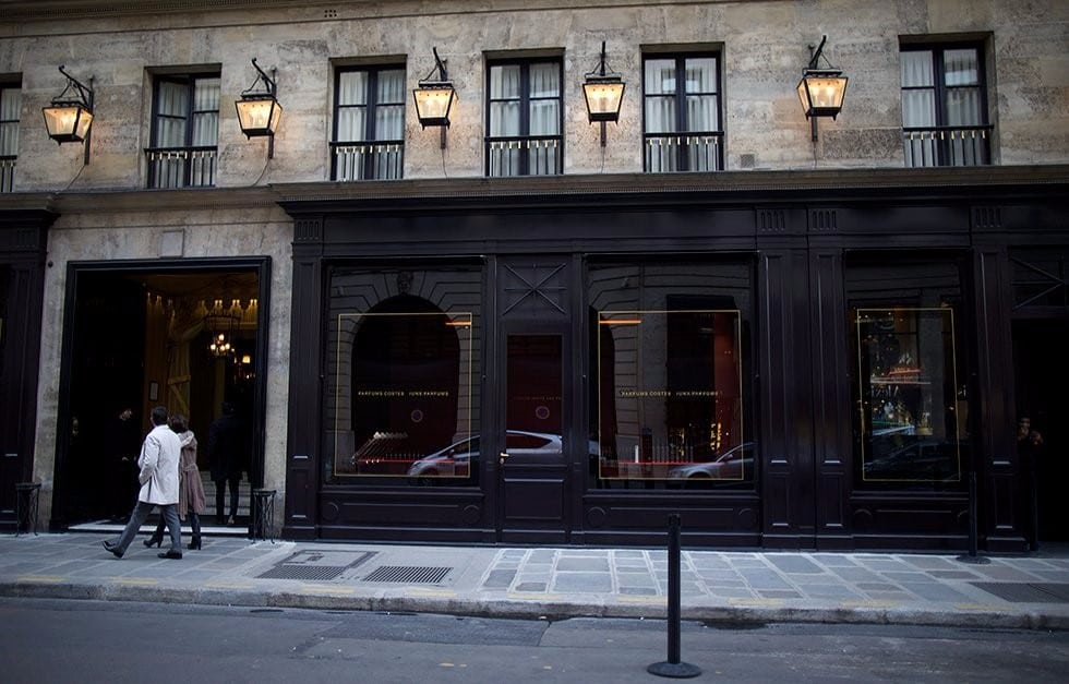 Immeuble de l'Hôtel Costes rue Saint-Honoré
