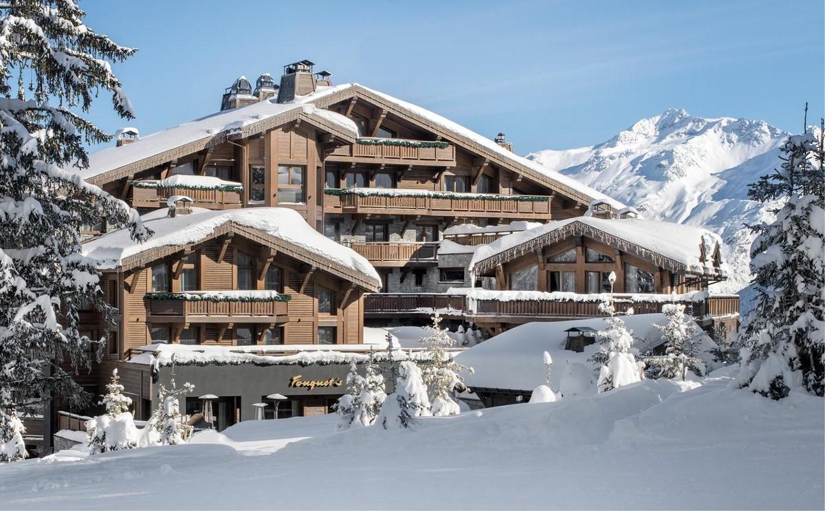L'hôtel Barrière Les Neiges à Courchevel