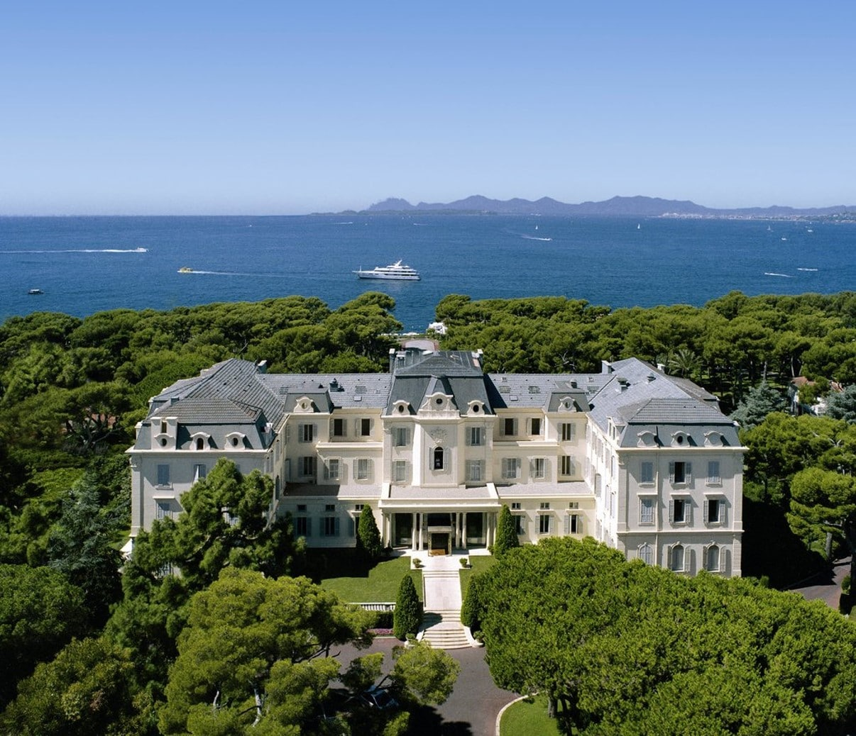 L'hôtel Cap-Eden-Roc à Antibes
