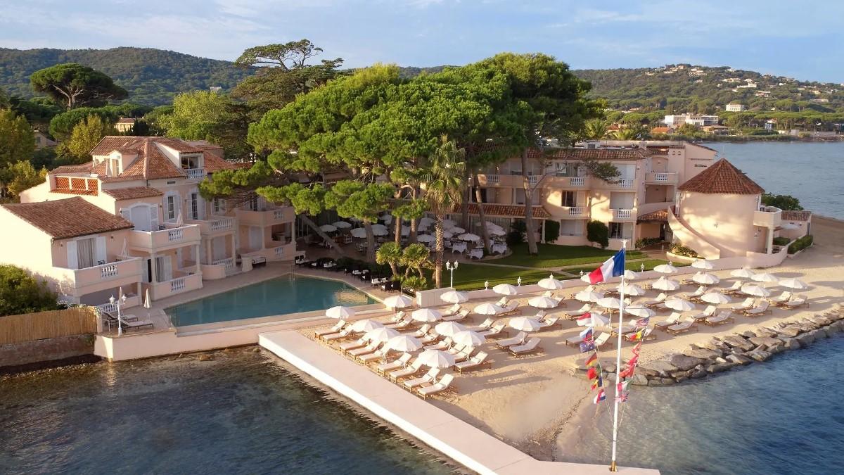 L'hôtel Cheval Blanc à Saint-Tropez