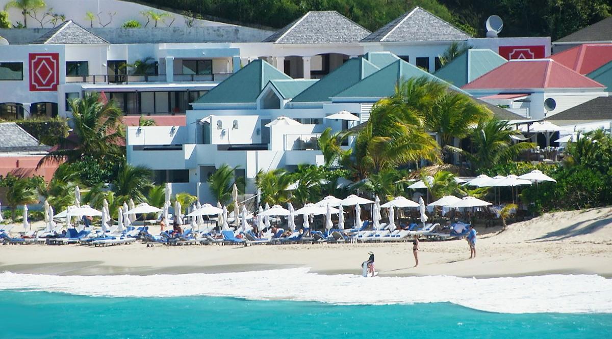 L'hôtel Cheval Blanc St-Barth Isle de France à Saint-Barthélemy