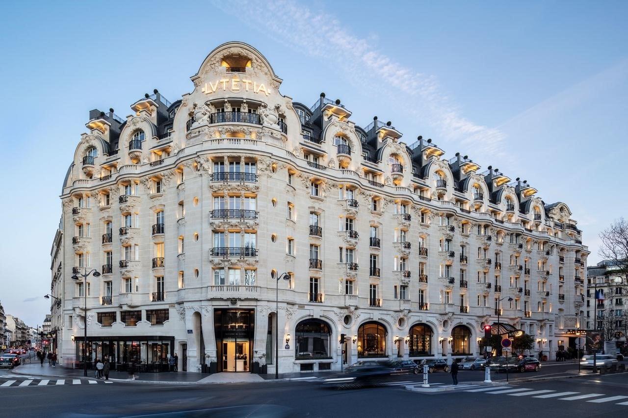 L'hôtel Lutetia boulevard Raspail à Paris